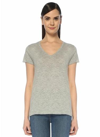 American Vintage Tişört Gri